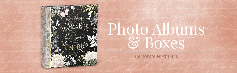 Photo Albums & Boxes