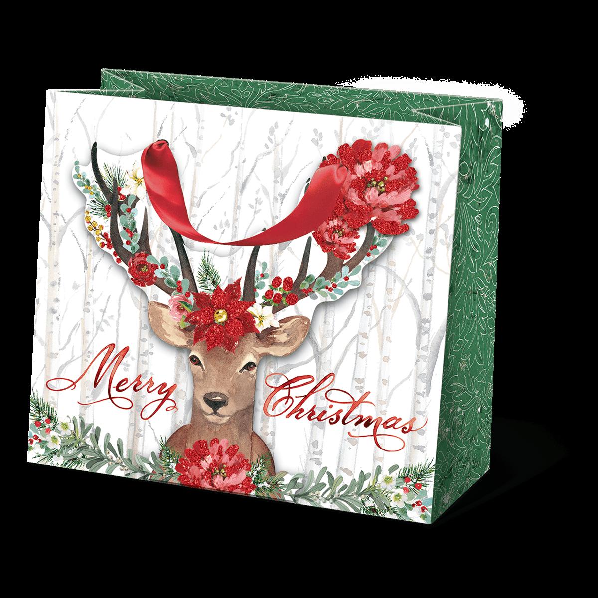 Deer Cheer Medium Gift Bag