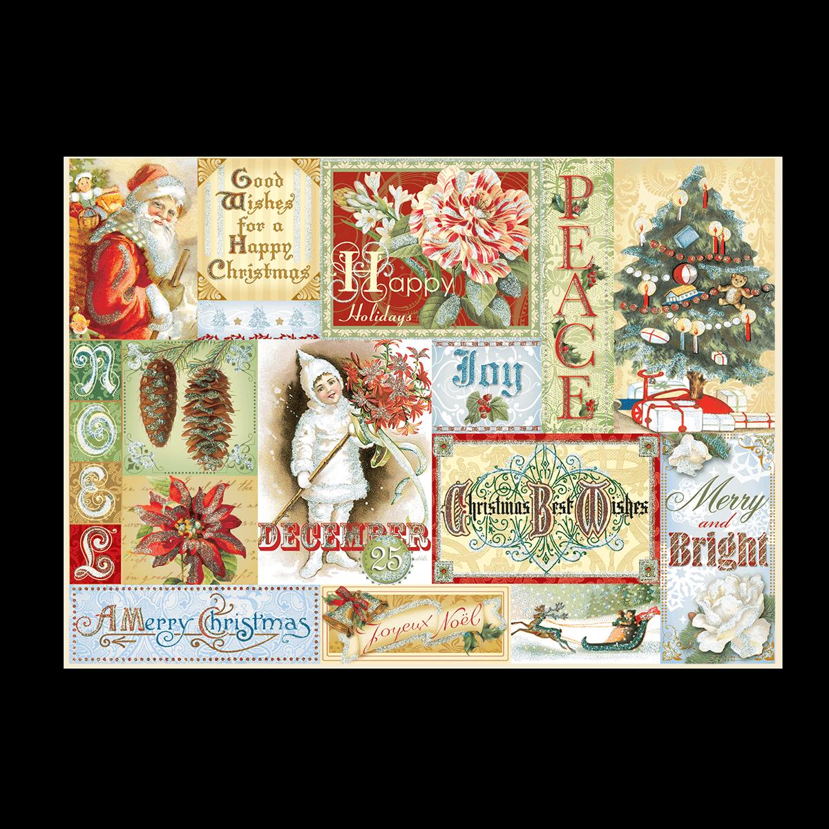 Christmas Nostalgia Boxed Holiday Cards | Punch Studio
