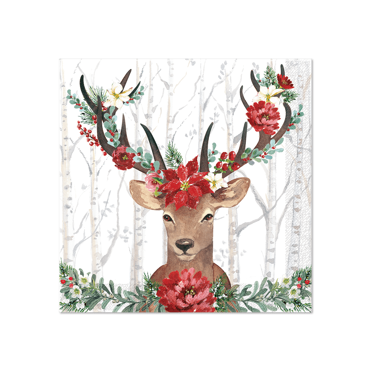 Deer Cheer Medium Gift Bag