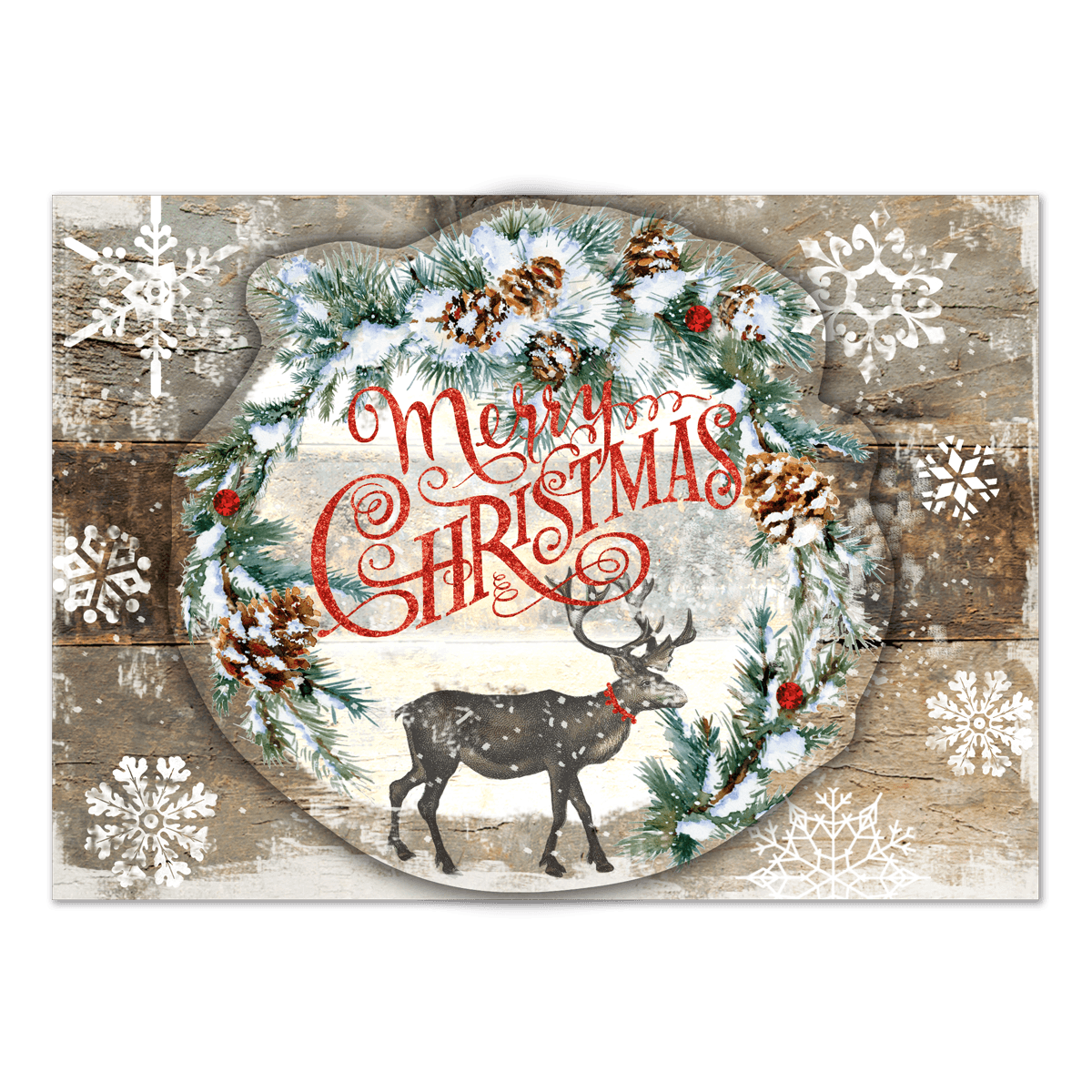 Boxed Christmas Cards With Reindeer | www.topsimages.com