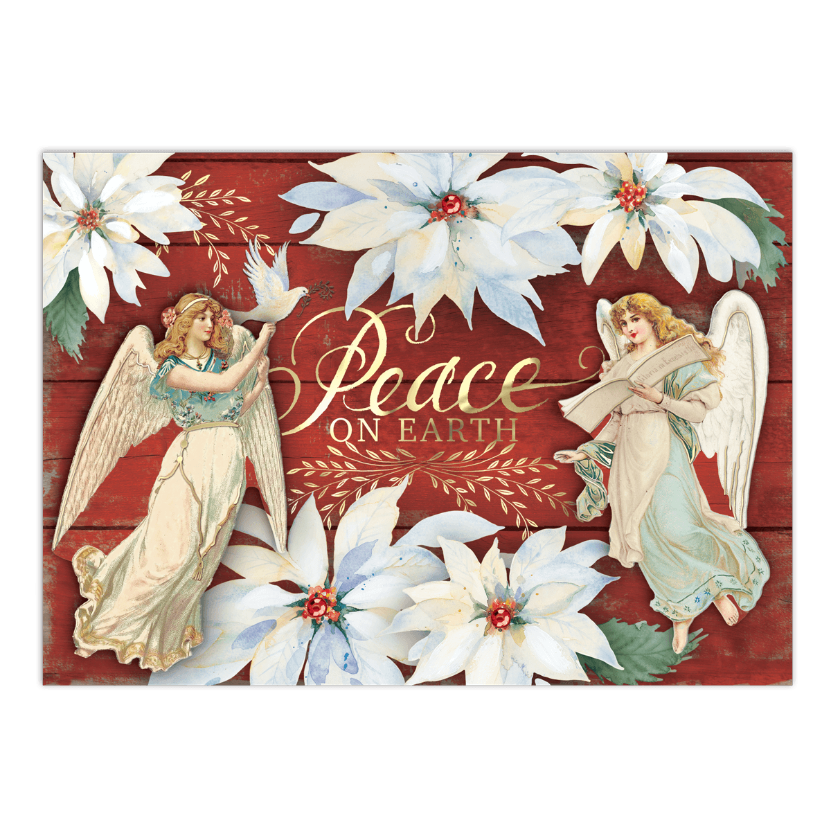 Peace Angels Boxed Holiday Cards | Punch Studio