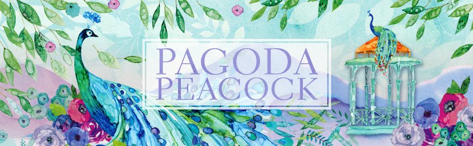 Pagoda Peacock