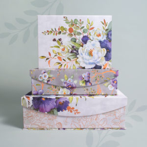 Indigo Hues Nested Box Set