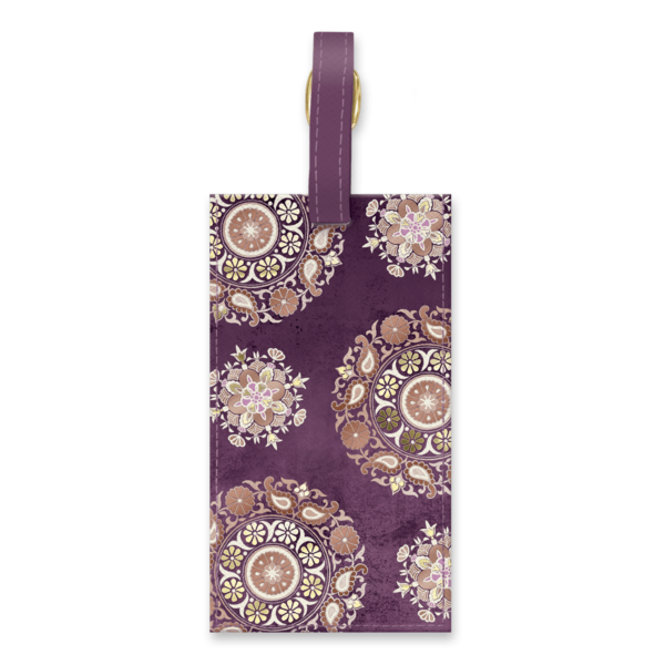 Medallions Luggage Tag
