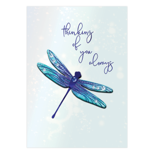 Dragonfly Thinking of You Card Product