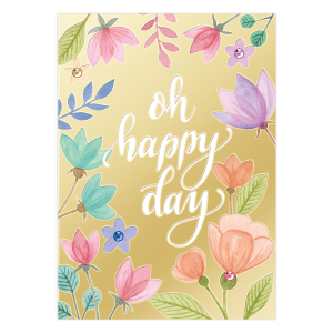 Oh Happy Day Birthday Card Product