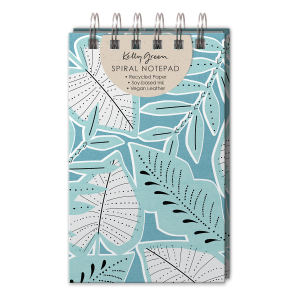 Blue Leaves Jotter Notepad Product