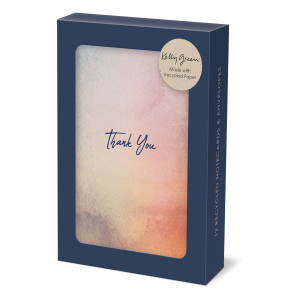 Watercolor Note Card Set Product