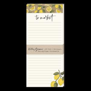 Orchard Lemons Magnetic List Pad Product