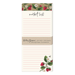 Orchard Strawberries Magnetic List Pad Product