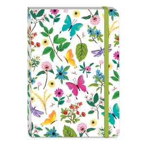 Full Bloom Butterfly Softcover Notebook Product