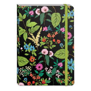 Full Bloom Black Softcover Notebook Product
