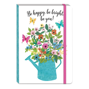 Full Bloom Watering Can Softcover Notebook Product