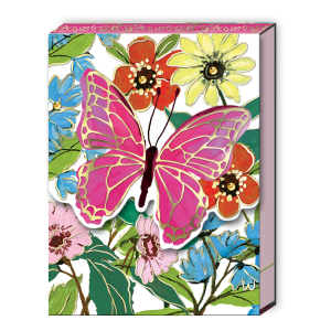 Full Bloom Butterfly Pocket Notepad Product