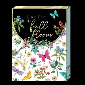 Full Bloom Pocket Notepad Product