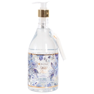 Blue Floral Hand Soap Product